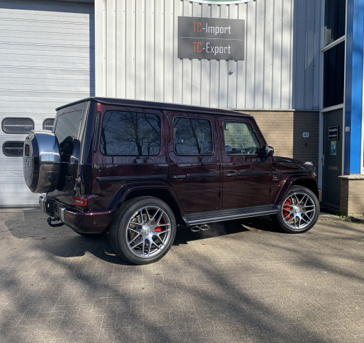 Mercedes Benz G63 AMG Rubbelit Red